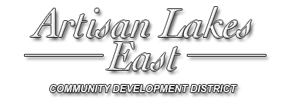 Artisan Lakes East Commuity Development District